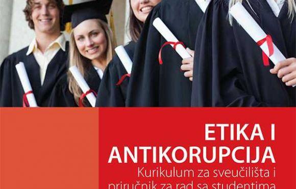 Želite znati više o korupciji i etici? Preuzmite naš priručnik! Kurikulum za univerzitete i priručnik za rad sa studentima (HRV)