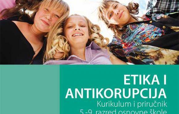 Želite znati više o korupciji i etici? Preuzmite naš priručnik! KURIKULUM V DO IX (HRV)